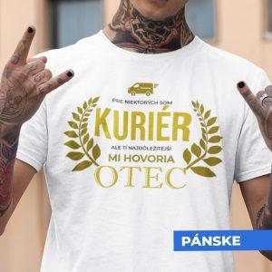 Tričko s potlačou OTEC KURIÉR