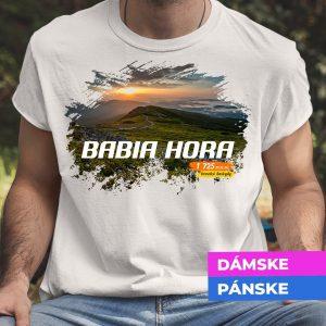Tričko s potlačou BABIA HORA