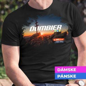 Tričko s potlačou ĎUMBIER