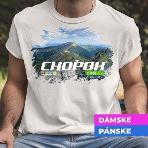 Tričko s potlačou CHOPOK