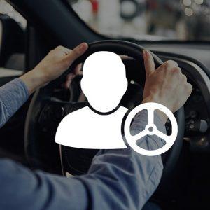 Tričká s potlačou - Vodič auta