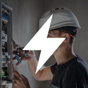 Tričká s potlačou - Elektrikár