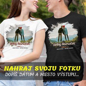 Tričko s VLASTNOU potlačou - HORY