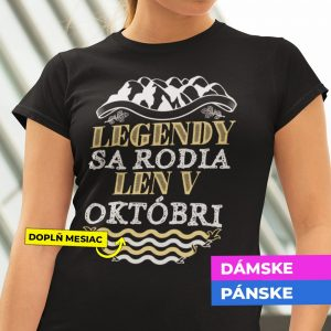 Tričko s potlačou LEGENDY SA RODIA