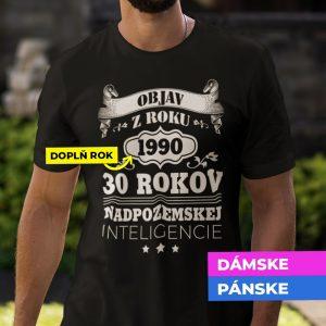 Tričko s potlačou OBJAV Z ROKU