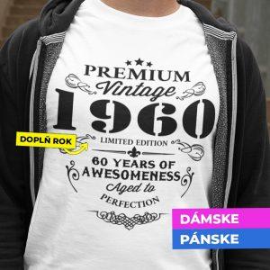 Tričko s potlačou PREMIUM VINTAGE