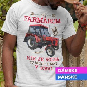 Tričko s potlačou FARMÁR