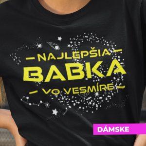 Tričko s potlačou NAJLEPŠIA BABKA