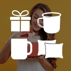 Darčeky s potlačou