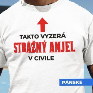 Tričko s potlačou STRÁŽNY ANJEL