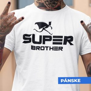 Tričko s potlačou SUPER BROTHER