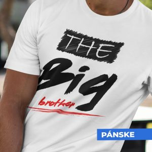 Tričko s potlačou THE BIG BROTHER