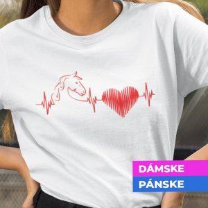 Tričko s potlačou Heartbeat