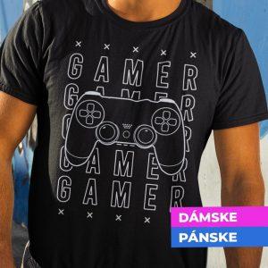 Tričko s potlačou Gamer
