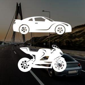 Tričká s potlačou AUTO-MOTO