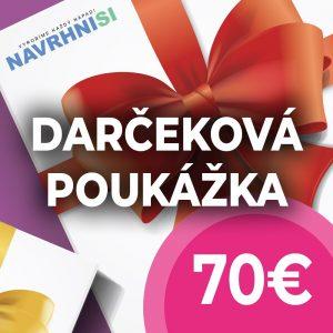 Darčeková poukážka 70€